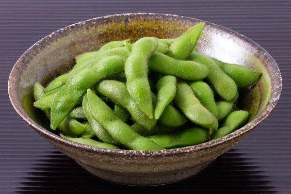 茹でた 枝豆 画像2 無料写真素材「花ざかりの森」