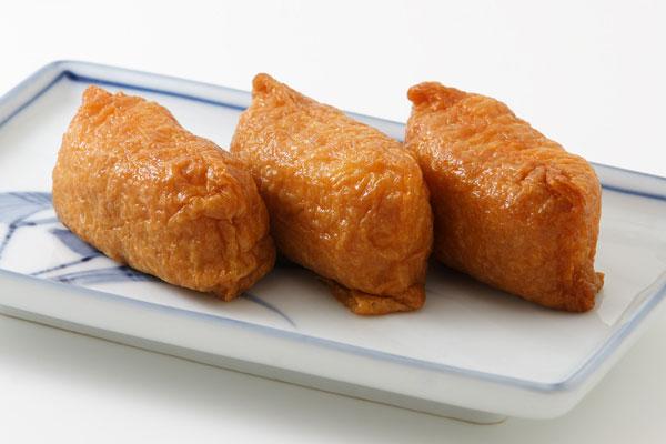 稲荷寿司 画像2 背景白 フリー写...
